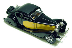 miniature de voiture Bugatti 57C Ventoux (réédition) Heco Miniatures Quirao idées cadeaux