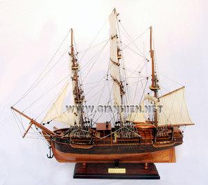 maquette de bateau, voilier, runabout Charles W Morgan baleinière - 50 cm Gia Nhien Quirao idées cadeaux