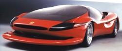 miniature de voiture Ferrari Colani Testa d'Oro (TR84 Wheelbase), 2001, rouge Ilario Quirao idées cadeaux
