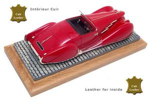 miniature de voiture Delahaye 135 Narval Figoni Flaschi 1935 Heco Miniatures Quirao idées cadeaux