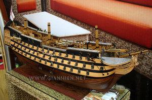 maquette de bateau, voilier, runabout HMS Victory coque ouvrable - édition limitée - 120 cm Gia Nhien Quirao idées cadeaux