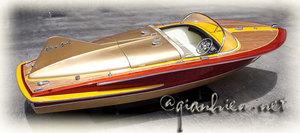 bateau radiocommandé Chris-Craft Cobra 90 cm R/C Gia Nhien Quirao idées cadeaux