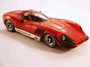 miniature de voiture Thomassima II  1967  Tom Meade Ferrari P4 inspired car  Thomassima II  1967  Tom Meade Ferrari P4 inspired car Ilario Quirao idées cadeaux