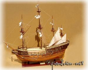 maquette de bateau, voilier, runabout Mary Rose (coque 60 cm) Gia Nhien Quirao idées cadeaux