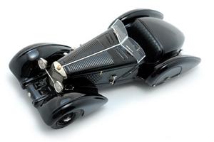 miniature de voiture Mercedes-Benz 710 SSK Trossi Roadster Heco Miniatures Quirao idées cadeaux
