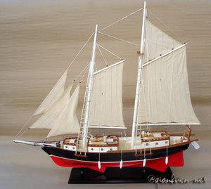 maquette de bateau, voilier, runabout Nathanael - 90 cm Gia Nhien Quirao idées cadeaux