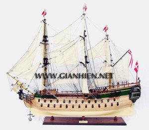 maquette de bateau, voilier, runabout Norske Love (coque 80 cm) Gia Nhien Quirao idées cadeaux
