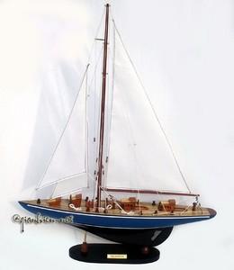 maquette de bateau, voilier, runabout Velsheda 68 cm Gia Nhien Quirao idées cadeaux