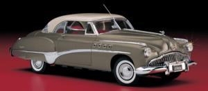 miniature de voiture Buick Riviera h/top 1949 The Franklin Mint Quirao idées cadeaux