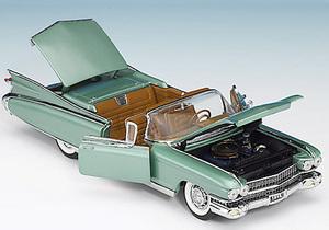 miniature de voiture Caddy Eldorado 1959 The Franklin Mint Quirao idées cadeaux