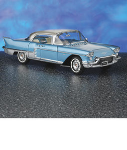 miniature de voiture Cadillac Brougham 1957 The Franklin Mint Quirao idées cadeaux