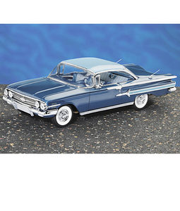 miniature de voiture Chevrolet Impala h/top 1960 The Franklin Mint Quirao idées cadeaux