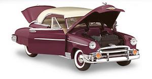 miniature de voiture Chevy Bel Air h/top 1950 The Franklin Mint Quirao idées cadeaux