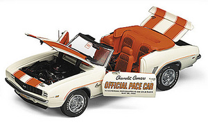 miniature de voiture Chevy Camaro Indy 500 pace car 1969 The Franklin Mint Quirao idées cadeaux
