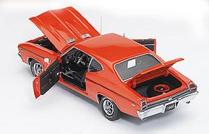 miniature de voiture Chevy Chevelle ss396 1969 The Franklin Mint Quirao idées cadeaux