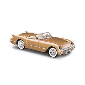 miniature de voiture Corvette 1955 The Franklin Mint Quirao idées cadeaux