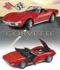 miniature de voiture Corvette 1970 The Franklin Mint Quirao idées cadeaux