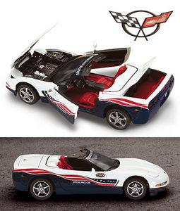 miniature de voiture Corvette Indy pace car 2005 The Franklin Mint Quirao idées cadeaux
