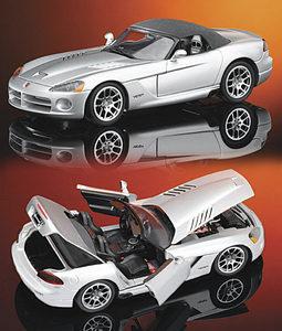 miniature de voiture Dodge viper 2003 The Franklin Mint Quirao idées cadeaux
