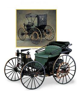 miniature de voiture Duryea 1893 The Franklin Mint Quirao idées cadeaux
