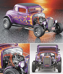 miniature de voiture Ford Deuce coupe hot rod 1932 The Franklin Mint Quirao idées cadeaux