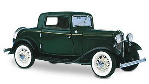 miniature de voiture Ford v8 Deuce coupe 1932 The Franklin Mint Quirao idées cadeaux