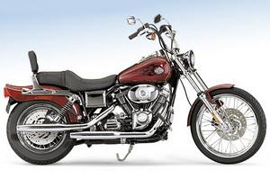 miniature de moto Harley Davidson Dyna wide glyde 2004 The Franklin Mint Quirao idées cadeaux