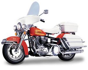 miniature de moto Harley Davidson road rally 1976 The Franklin Mint Quirao idées cadeaux