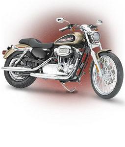 miniature de moto Harley Davidson Sportster 2004 The Franklin Mint Quirao idées cadeaux