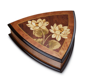 Reuge music box Flora jewellery box Reuge