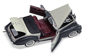 miniature de voiture Mercedes 300sc 1957 The Franklin Mint Quirao idées cadeaux