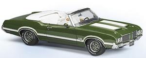 miniature de voiture Oldsmobile 4-4-2 conv 1972 The Franklin Mint Quirao idées cadeaux