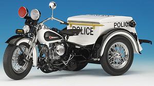 miniature de moto Harley Davidson Police servi-car The Franklin Mint Quirao idées cadeaux