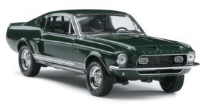 miniature de voiture Shelby GT500 kr 1968 -signature edition- The Franklin Mint Quirao idées cadeaux