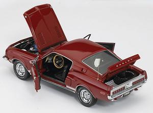 miniature de voiture Shelby Mustang GT 500 KR 1968 The Franklin Mint Quirao idées cadeaux