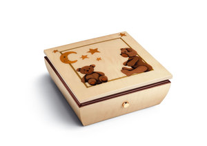 Reuge music box Teddy Reuge