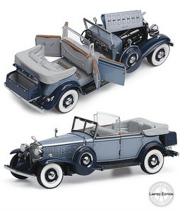 miniature de voiture Cadillac Phaeton - 1932 The Franklin Mint Quirao idées cadeaux