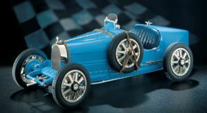 miniature de voiture Bugatti type 35 1924 The Franklin Mint Quirao idées cadeaux
