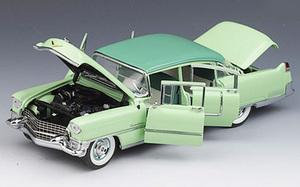 miniature de voiture Caddy fleetwood 1955 - 2 tons vert The Franklin Mint Quirao idées cadeaux