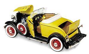miniature de voiture Chevrolet Confederate cabriolet 1932 The Franklin Mint Quirao idées cadeaux