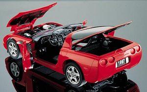 miniature de voiture Chevrolet Corvette 1997 The Franklin Mint Quirao idées cadeaux