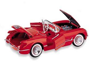 miniature de voiture Corvette conv 1954 The Franklin Mint Quirao idées cadeaux