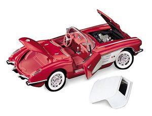 miniature de voiture Chevrolet Corvette conv 1959 The Franklin Mint Quirao idées cadeaux