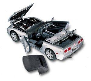 miniature de voiture Chevrolet Corvette convertible 1998 The Franklin Mint Quirao idées cadeaux
