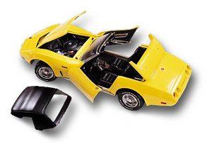 miniature de voiture Corvette L82 conv 1975  Quirao idées cadeaux