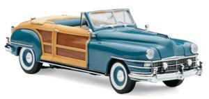miniature de voiture Chrysler Town & Country 1948 Bleue The Franklin Mint Quirao idées cadeaux