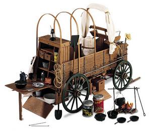 miniature de voiture Chuck wagon The Franklin Mint Quirao idées cadeaux