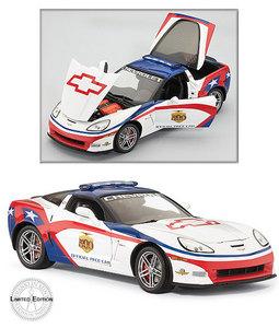miniature de voiture Corvette Indy 500 Pace car 2006 The Franklin Mint Quirao idées cadeaux