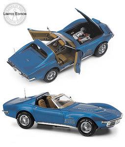miniature de voiture Corvette LT-1 1970 The Franklin Mint Quirao idées cadeaux