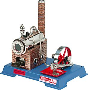 model steam engine D5 - Steam Engine model kit Wilesco